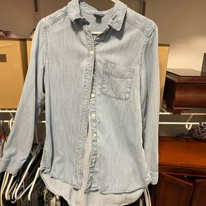 Eddie Bauer denim shirt. Super soft and nice